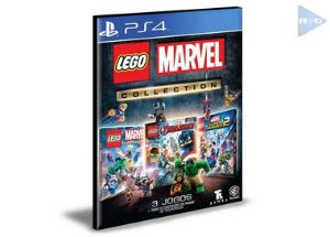 Coleção LEGO Marvel | Português |  Ps4 |  Mídia Digital