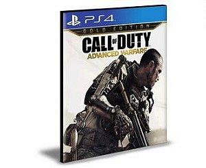 Call of Duty Advanced Warfare  Gold Edition  PS4 e PS5 Psn Mídia Digital