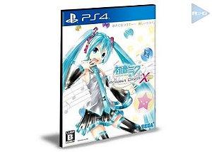 Hatsune Miku : Project Diva X  PS4 e PS5 Psn  Mídia Digital