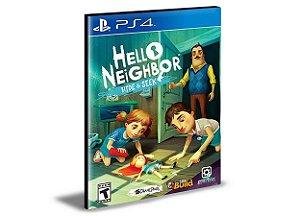 Hello Neighbor Hide and Seek Ps4 e Ps5 Psn  Mídia Digital