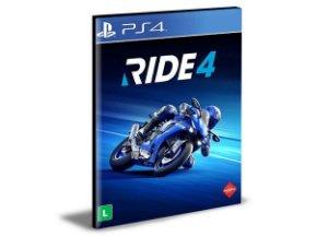 RIDE 4  Ps4 e Ps5 Português Psn - Mídia Digital