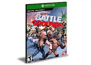 WWE 2K Battlegrounds  Xbox One e Xbox Series X|S MÍDIA DIGITAL