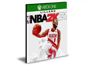 NBA 2K21  Xbox One  MÍDIA DIGITAL