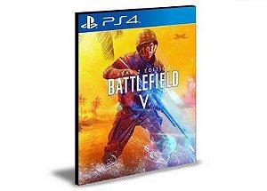 Battlefield 5 Edição Ano 2 Português  Ps4 e Ps5  Mídia Digital Psn
