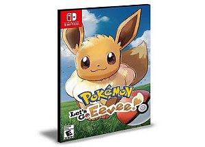 Pokémon Let's Go Eevee | Nintendo Switch | Mídia Digital