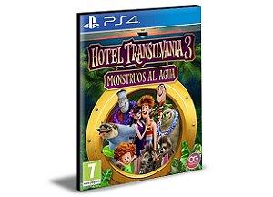 Hotel Transylvania 3: Monsters Overboard and Crayola Scoot Português Ps4 e Ps5 Mídia Digital