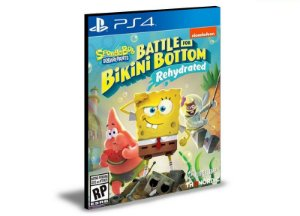 SpongeBob SquarePants Battle for Bikini Bottom Rehydrated PS4 e PS5 PSN MÍDIA DIGITAL