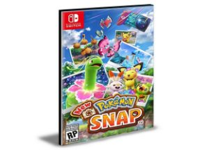 New Pokémon Snap Nintendo Switch Mídia Digital