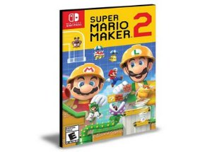 Super Mario Maker 2 Nintendo Switch Mídia Digital