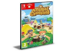 Animal Crossing Novos Horizontes NINTENDO SWITCH Mídia Digital