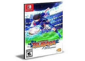 Captain Tsubasa Rise of New Champions Nintendo Switch Mídia Digital