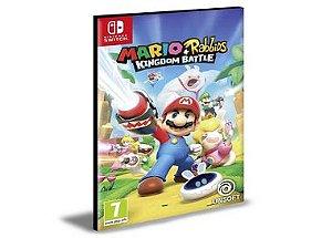 Mario + Rabbids Kingdom Battle  Nintendo Switch Mídia Digital
