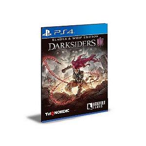 DARKSIDERS 3 Blades & Whip Edition PORTUGUÊS Ps4 e Ps5 Psn  Mídia Digital