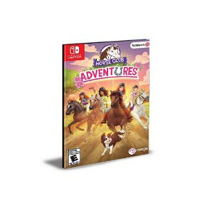 Horse Club Adventures Nintendo Switch Mídia Digital