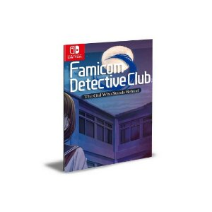 Famicom Detective Club The Girl Who Stands Behind Nintendo Switch Mídia Digital