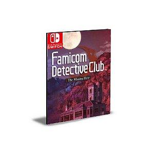 Famicom Detective Club The Missing Heir Nintendo Switch Mídia Digital