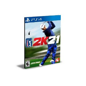PGA TOUR 2K21 Ps4 e Ps5  Psn Mídia Digital