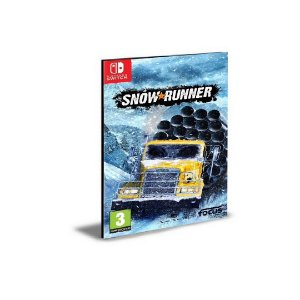 SnowRunner Nintendo Switch Mídia Digital