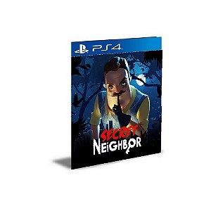 Secret Neighbor Ps4 e Ps5 Psn Mídia Digital