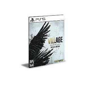 Resident Evil Village 8 Versão Deluxe Ps5 Português Psn Mídia Digital