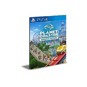 Planet Coaster Edição de Console Ps4 Psn Mídia Digital