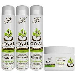 Kit Manutenção Cocobamboo Royal Home Care 4 Passos