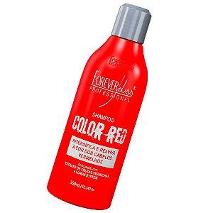 Forever Liss Shampoo Color Red Cabelos Vermelhos 300ml