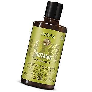 Inoar Botanic Pré Shampoo Óleo De Rícino E Macadâmia 300ml