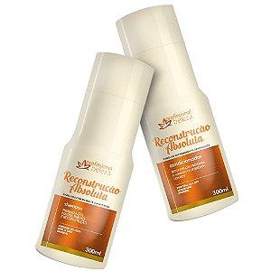 Kit Reconstrução Absoluta Shampoo + Condicionador 300ml