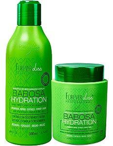 Kit Forever Liss Babosa Shampoo 300ml + Máscara 250g