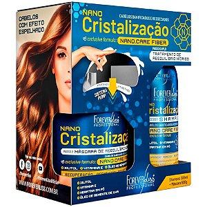 Forever Liss Kit Nano Cristalização Shampoo 300ml + Máscara 500g