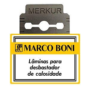 08 Lâminas De Aço Inox Desbastador Marco Boni 9500
