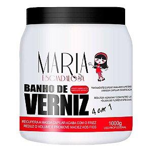 Banho De Verniz Máscara Hidratante Maria Escandalosa 1kg