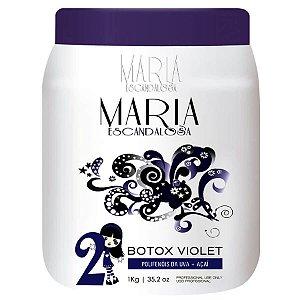 Botox Matizador Capilar Violet Maria Escandalosa 1Kg