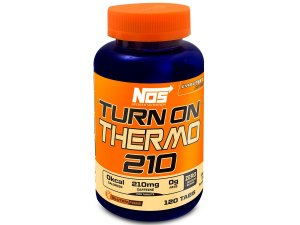 Cafeina 200mg Turn On Thermo Nos Nutrition 60 Comprimidos