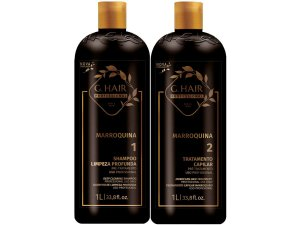 Escova Progressiva Marroquina G Hair 2x1000ml