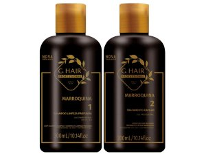 Escova Progressiva Marroquina G Hair 2x250ml