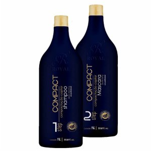 Escova Progressiva Sem Formol Compact Royal 2x1000ml