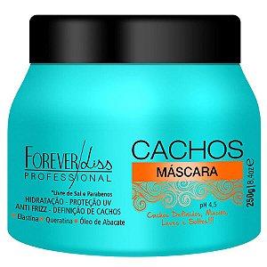 Forever Liss Máscara Cachos 250g Livre de Sal e Parabenos