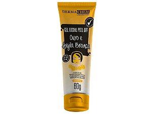 Gel Facial Ouro E Argila Branca Clareador Dermachem 60g