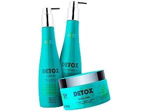 Kit Detox Para Cabelos Oleosos Home Care Ellsy Cosmetics