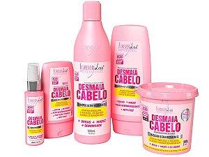 Forever Liss Kit Completo Desmaia Cabelo com Máscara 350g
