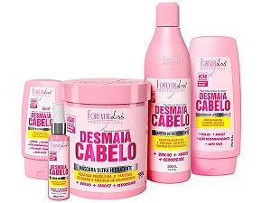 Forever Liss Kit Completo Desmaia Cabelo com Máscara 950g