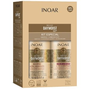 Shampoo + Condicionador Inoar Absolut DayMoist 250ml