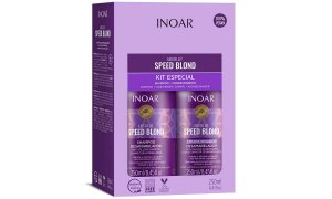 Inoar Kit Absolut Speed Blond Duo 250ml Matizador