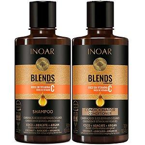 Inoar Kit Blends Shampoo + Condicionador 300ml