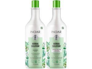Inoar Kit Herbal Shampoo + Condicionador Sem Sal 2x1000ml