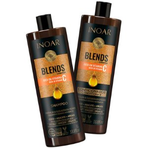 Inoar Kit Shampoo + Condicionador Coleção Blends 2x1000ml