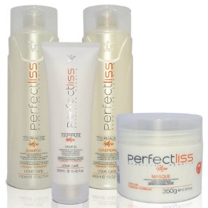 Kit Pós Progressiva Perfect Liss Anti Frizz Turmalina Visat Hair