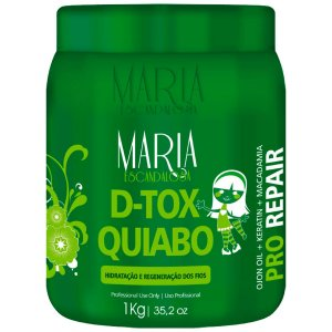 Máscara Botox Quiabo Maria Escandalosa 1Kg